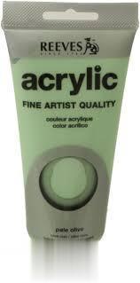 رنگ آكريليك REEVES 8340450 Pale Olive 75ml
