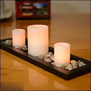 شمع 3 عددی CANDLE 1019 California LED