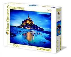 پازل Le Mont Saint Michel 1500pcs 31994