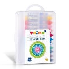 پاستل روغني 12 رنگ Primo 057PC12MXP