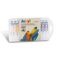 رنگ آكريليك 12 رنگ Primo Acryl 407TA12PP 7.5ml