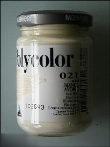 رنگ آكريليك MAIMERI 021 3D Ivory White 140ml