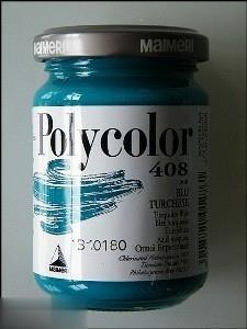 رنگ آكريليك MAIMERI 408 Turquoise Blue 350ml