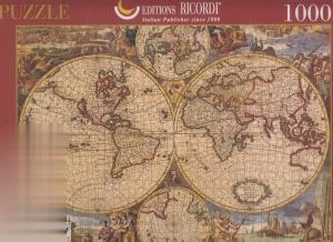 Map of the World 16020G