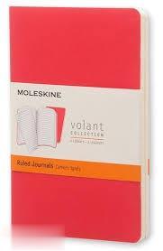 يادداشت 20 برگ 2 عددي A6 قرمز MOLESKINE Volant