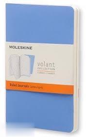 يادداشت 20 برگ 2 عددي A6 آبي MOLESKINE Volant