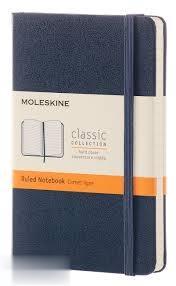 يادداشت 96 برگ A6 سرمهاي كشدار MOLESKINE Classic