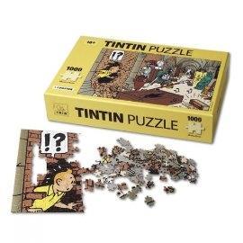 پازل گنجينه 1000 تكه 70×50 با پوستر TINTIN
