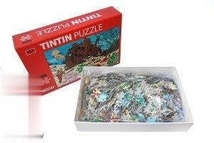پازل كشتي غرق شده 1000 تكه 70×50 با پوستر TINTIN