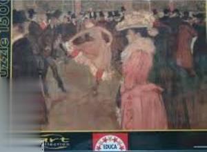پازل Baile En El Moulin Rouge 1500pcs 14140