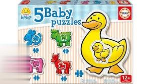 Baby Puzzles 5 The Farm 14865
