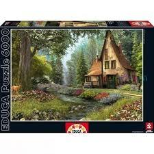 پازل Toadstool Cottage 6000pcs 15543