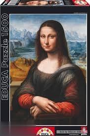 پازل Prado Museum Giaconda 1500pcs 16011