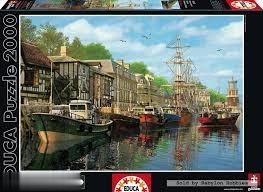 پازل Harbour Barcas no Cais 2000pcs 16313