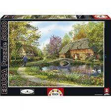 پازل Meadow Cottages 5000pcs 16356