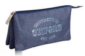 جامدادي تك زيپ 3 لت BUSQUETS 04450 Oxford