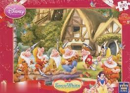 پازل Puzz Dwarfs & Snow White 100pc 4754