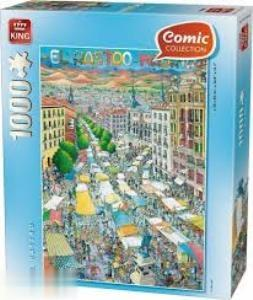 El Rastro Madrid 1000pc 05088