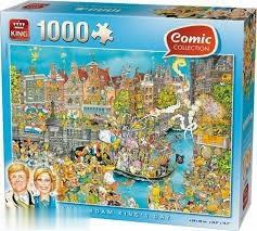 پازل Amsterdam Kings Day 1000pcs 05132