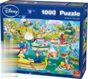Disney Fun on The Water 1000pc 05358