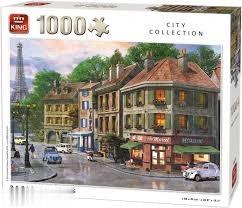 Paris Sireets 1000pc 05358