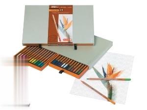 مدادرنگي 24 رنگ چوبي Bruynzeel 8805H24
