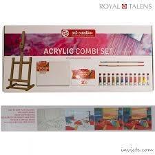 ست رنگ آكريليك با لوازم ROYAL TALENS 9011713 12ml