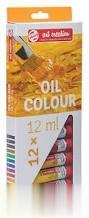 ست رنگ روغن 12 رنگ ROYAL TALENS 9020112 12ml