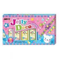 چسب 6 رنگ AMOS Jelly Deco 22ml