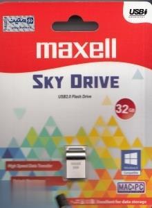 فلش مموری maxell Sky Drive USB2 32GB