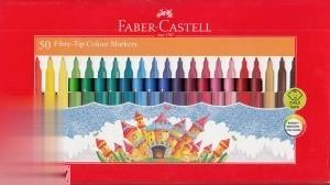 ماژيك 50 رنگ FABER CASTELL 155450