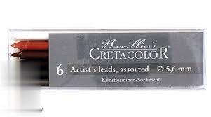 نوك اتود 5.6mm رنگي CRETACOLOR 26400