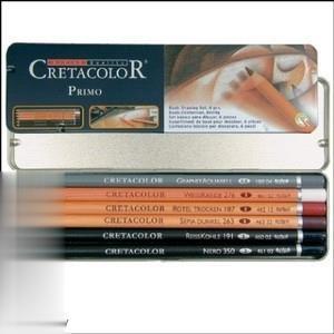 ست مداد كنته 6 رنگ CRETACOLOR 40006 Primo