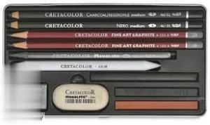 ست طراحي 11 تكه CRETACOLOR 40032