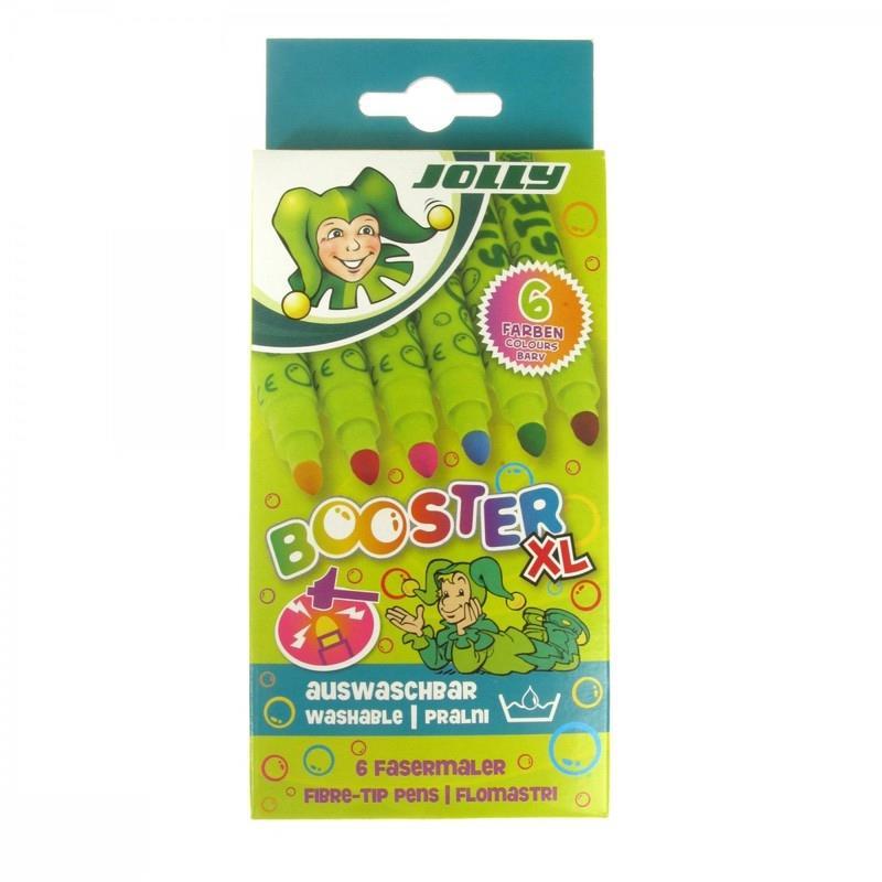 ماژيك 6 رنگ JOLLY 4430-0016 BOOSTER XL