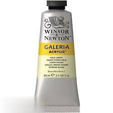 رنگ آكريليك WINSOR 120434 60ml Pale Lemon 434