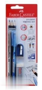 ست تحریر مداد مشکی خودکار تراش و پاککن FABER CASTELL 900478