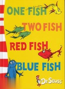 Dr.Seuss One Fish Two Fish Red Fish Blue Fish