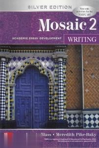 Mosaic 2 Writing Silver