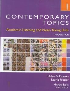 Contemporary Topics 1 CD