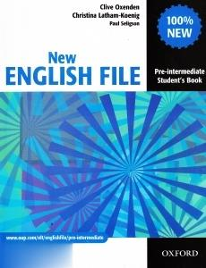 New English File Pre Intermediate SB WB CD