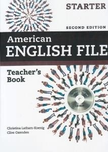 American English File Teachers Book Starter CD (ويرايش جديد)