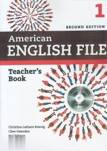 American English File 1 Teachers Book CD (ويرايش جديد)