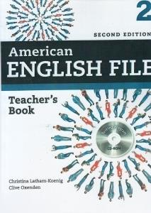American English File 2 Teachers Book CD (ويرايش جديد)