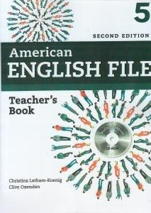 American English File 5 Teachers Book CD (ويرايش جديد)