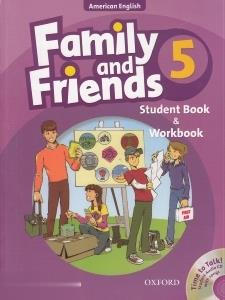 Family and friends 5 SB WB CD (تك جلدي)