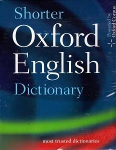 Shorter Oxford English Dic (in Pack) org