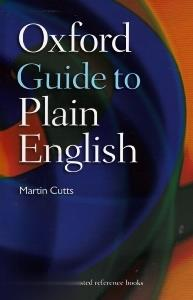 Oxford Guide to Plain English org