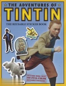 The Adventures of Tintin The Reusable Sticker Book