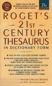 Rogets 21 Century Thesaurus Dic